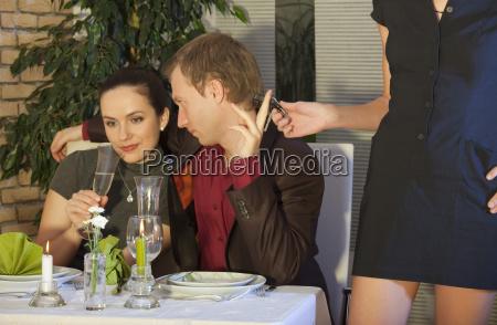 cheat in restaurant
