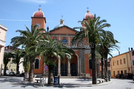 church of oschiri sardinia italy