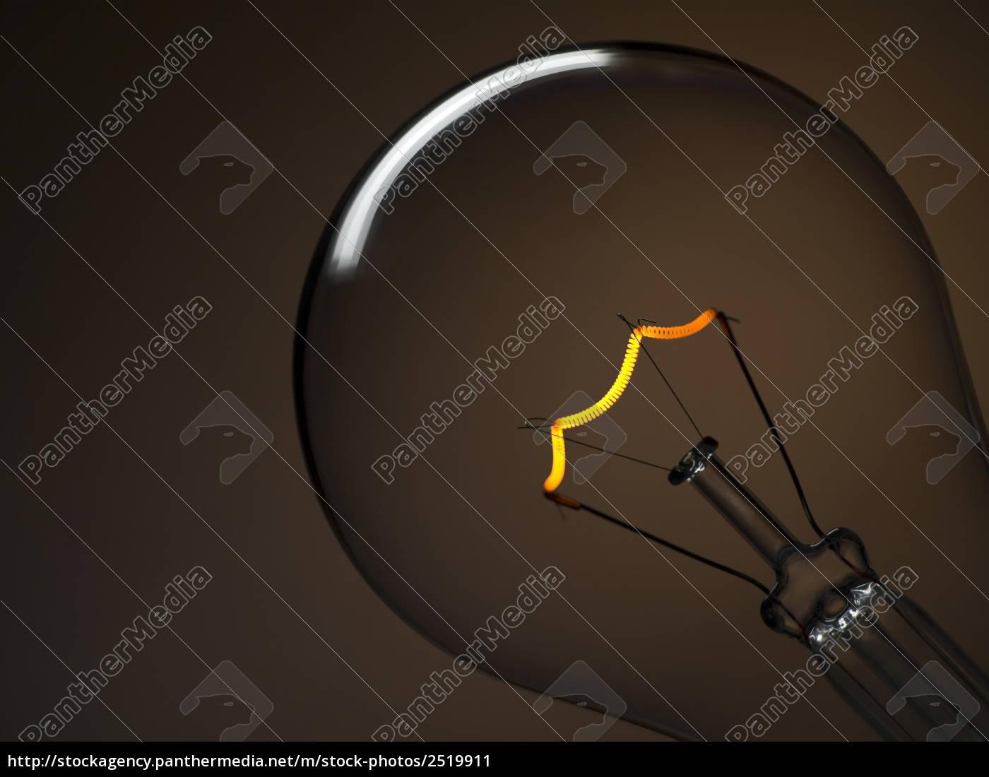 bulb, light, over, brown - 2519911