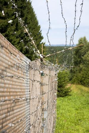 border fence former gdr
