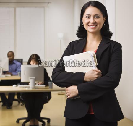 smiling career woman