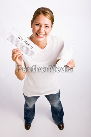woman holding innernotification