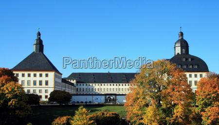 friedenstein castle in gotha thueringen