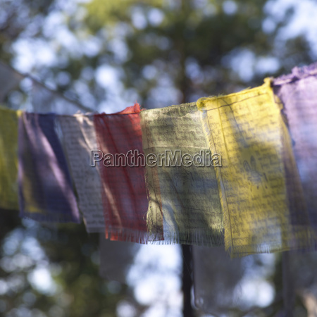 buddhist prayer cloth