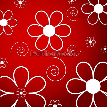 flowers, and, swirls - 2537607