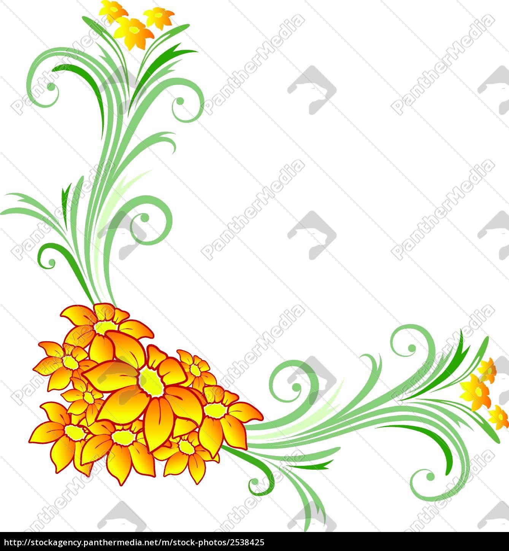 floral, corner - 2538425