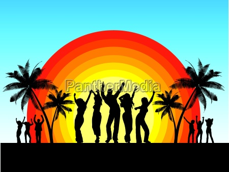 summer, party - 2538113