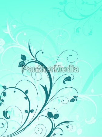 floral, abstract - 2540081