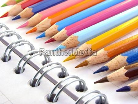 color, pencils, 1 - 2543331