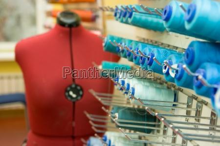 tailor repairing clothes