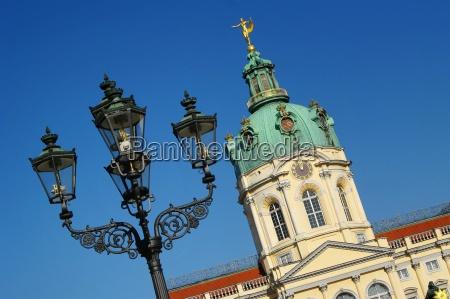 lanterns around the schloss charlottenburg