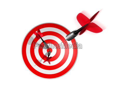 3d darts right on the target