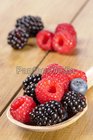 spoonful of fruit