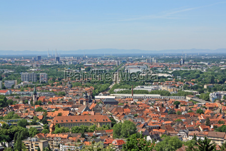 karlsruhe view from the tower