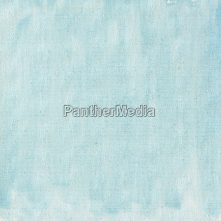light blue watercolor abstract with canvas