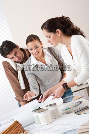 interior, designer, working, at, office - 2613394