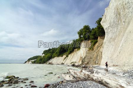 chalk cliffs on ruegen