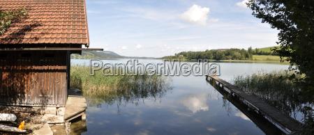 at the lake panorama