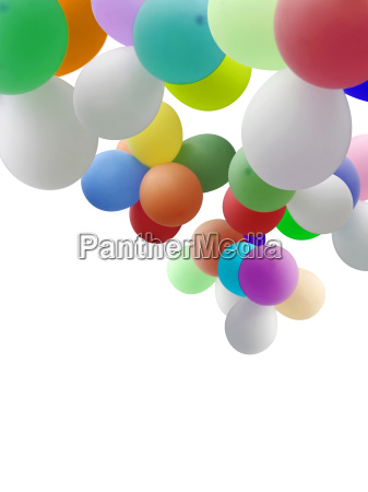 balloons with copy space