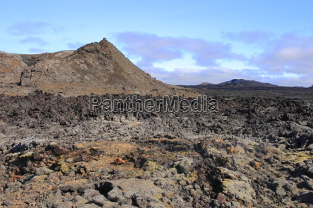 the lava field of leirhnjukur