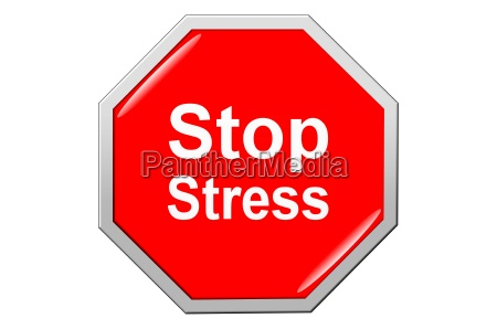 stop the stress yellow button