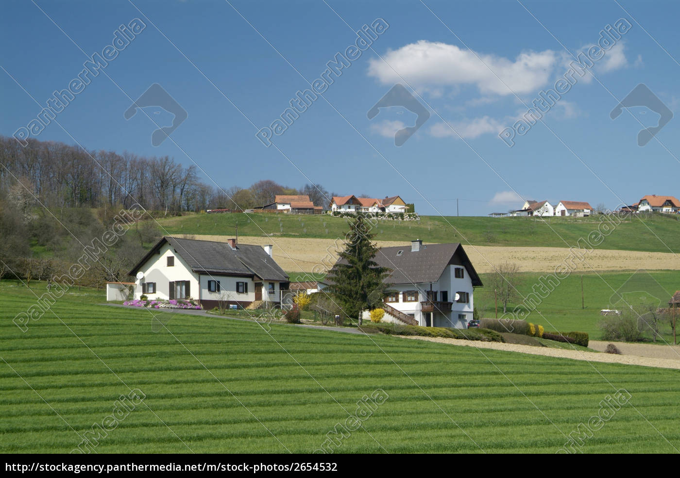 hill, house - 2654532