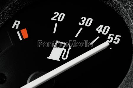 up tank fuel gauge