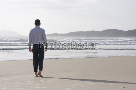 lonely businessman