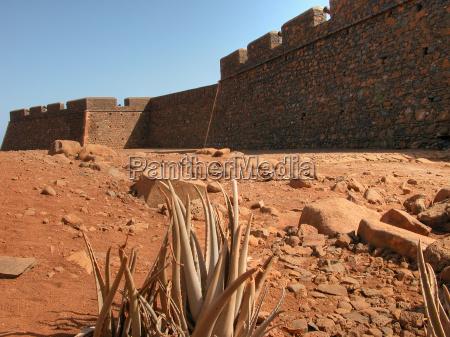 walls of capo verde may 2003