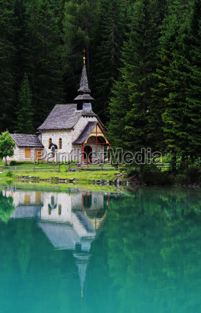 chapel in the mirror