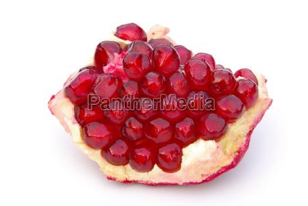 exempted pomegranate pomegranate isolated 03