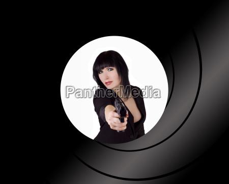 female russian spy
