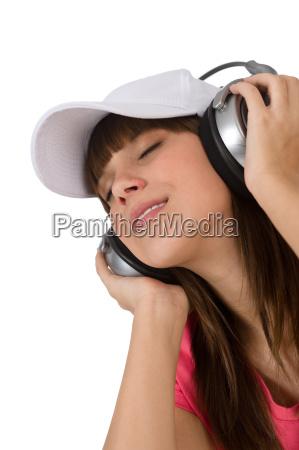student, -, happy, female, teenager, listen - 2804023