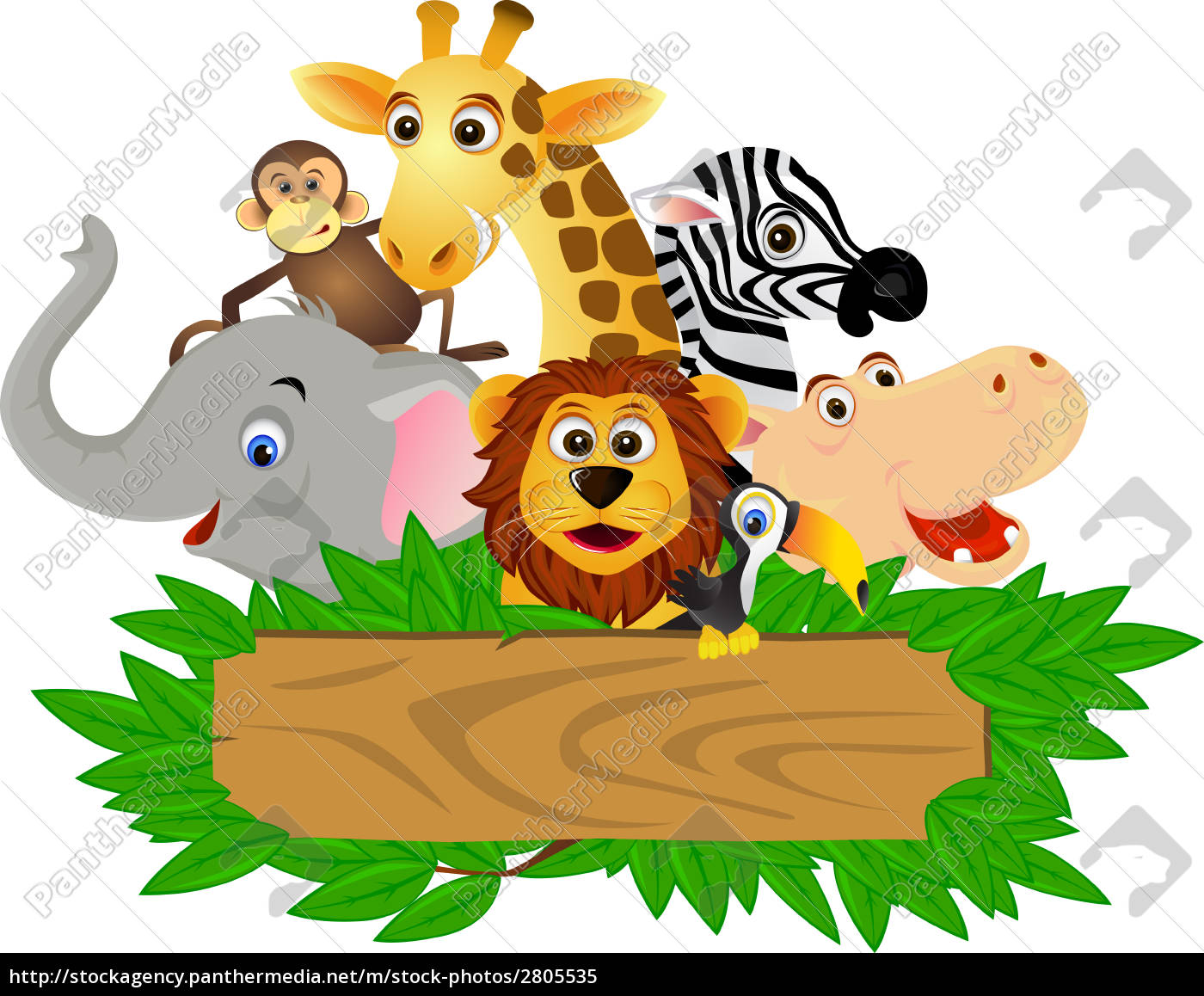 cartoon, animal - 2805535