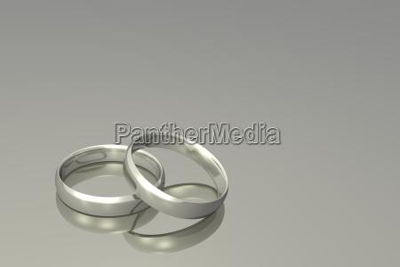 silver, wedding, rings - 2805723