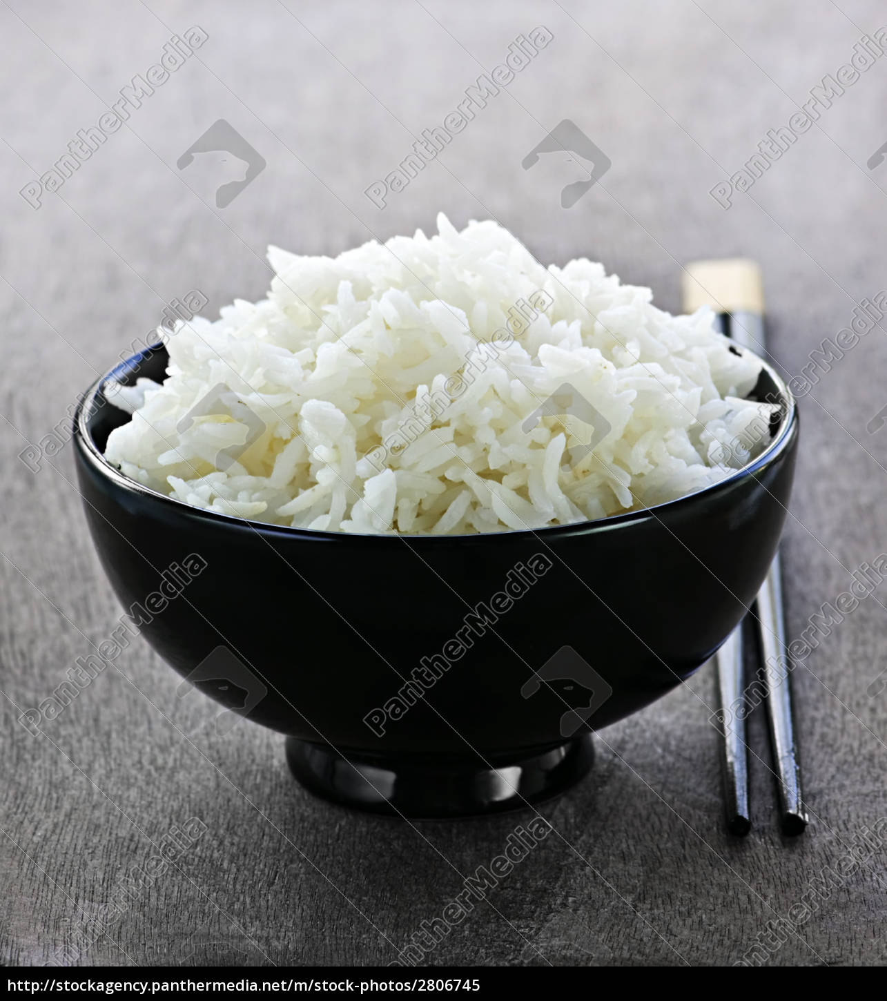rice, bowl, with, chopsticks - 2806745