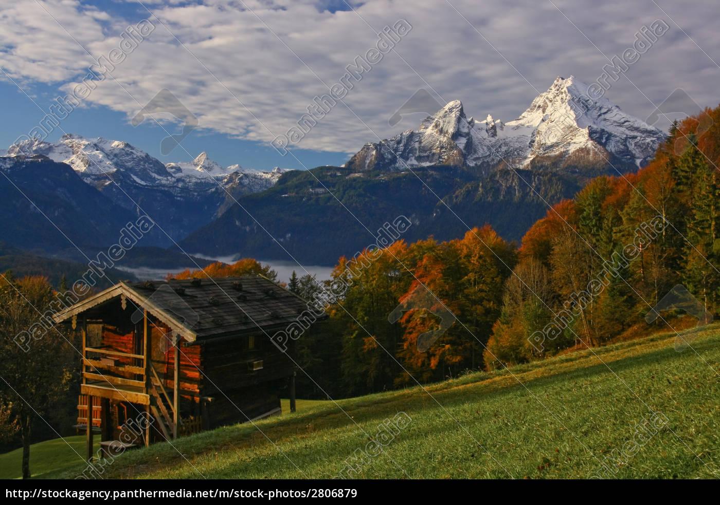 watzmann, in, autumn - 2806879