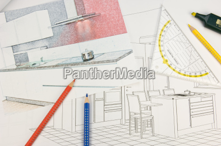kitchen, planning - 2807579