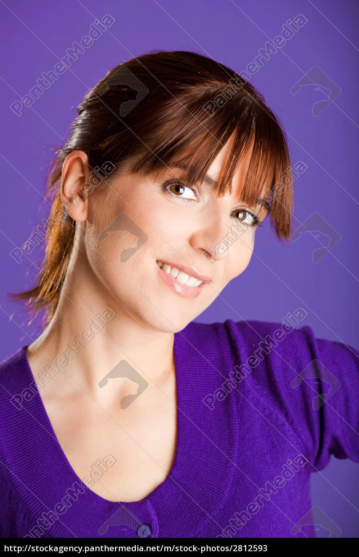 beautiful, woman, smilling - 2812593