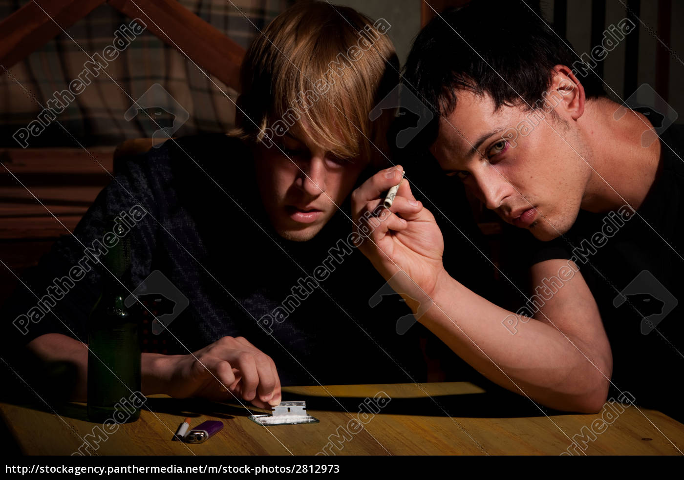 two, men, with, heroin, cooking, in - 2812973