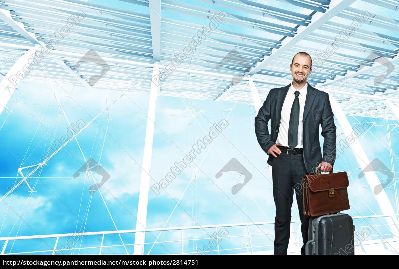 businessman, travel - 2814751