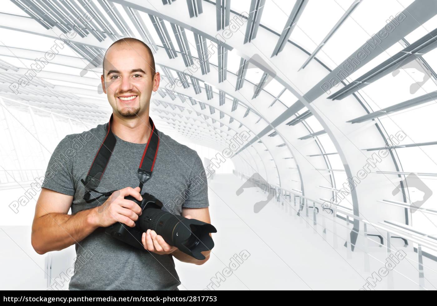 confident, photographer, background - 2817753