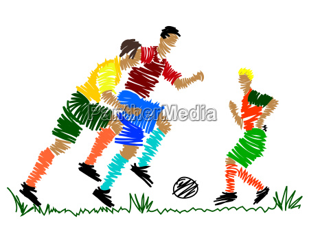 football, player, abstract - 2817475