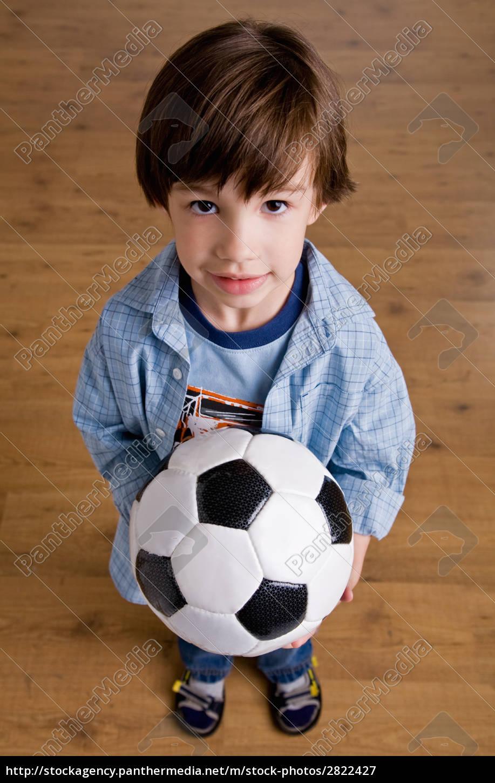 boy, holding, soccer, ball - 2822427