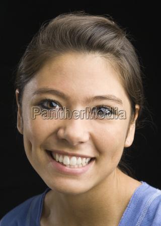 teenage, girl, smiling - 2822455