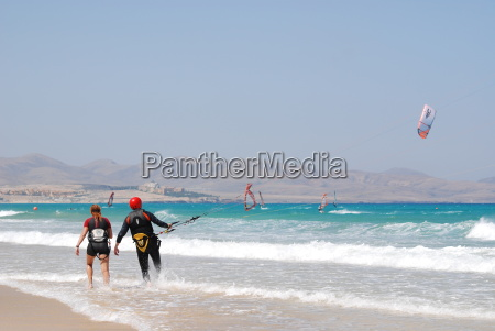 windsurfing in fuerteventura