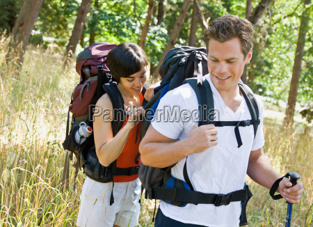 woman, opening, boyfriends, backpack - 2823113