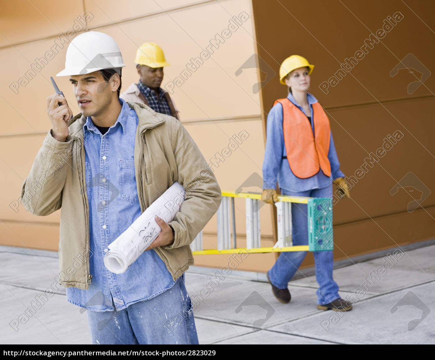 young, male, construction, worker - 2823029