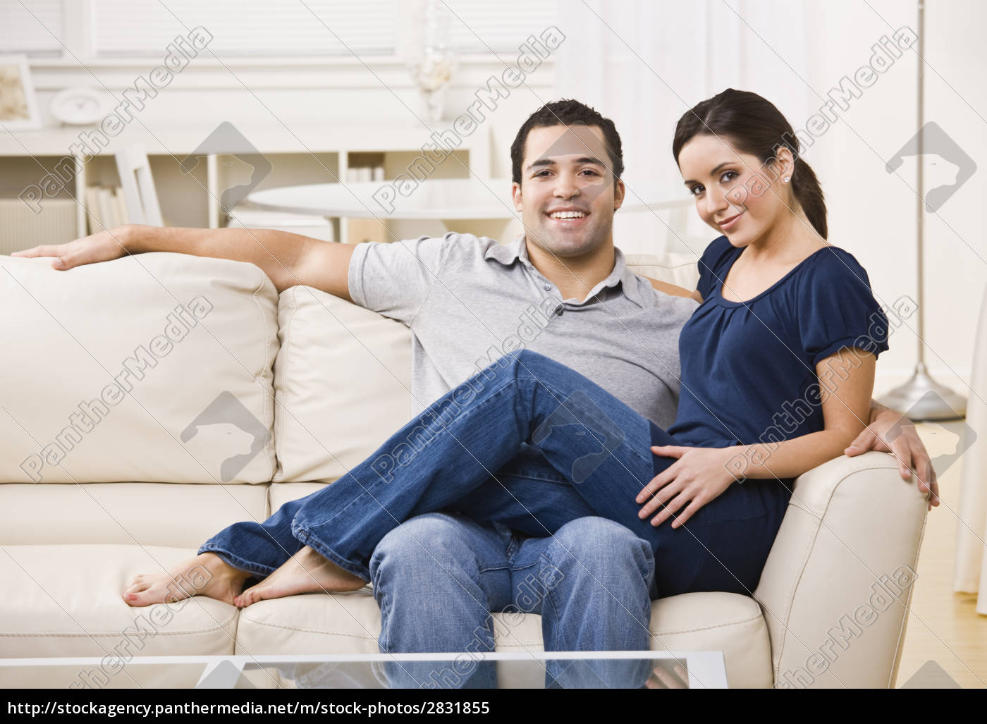 couple, on, couch - 2831855