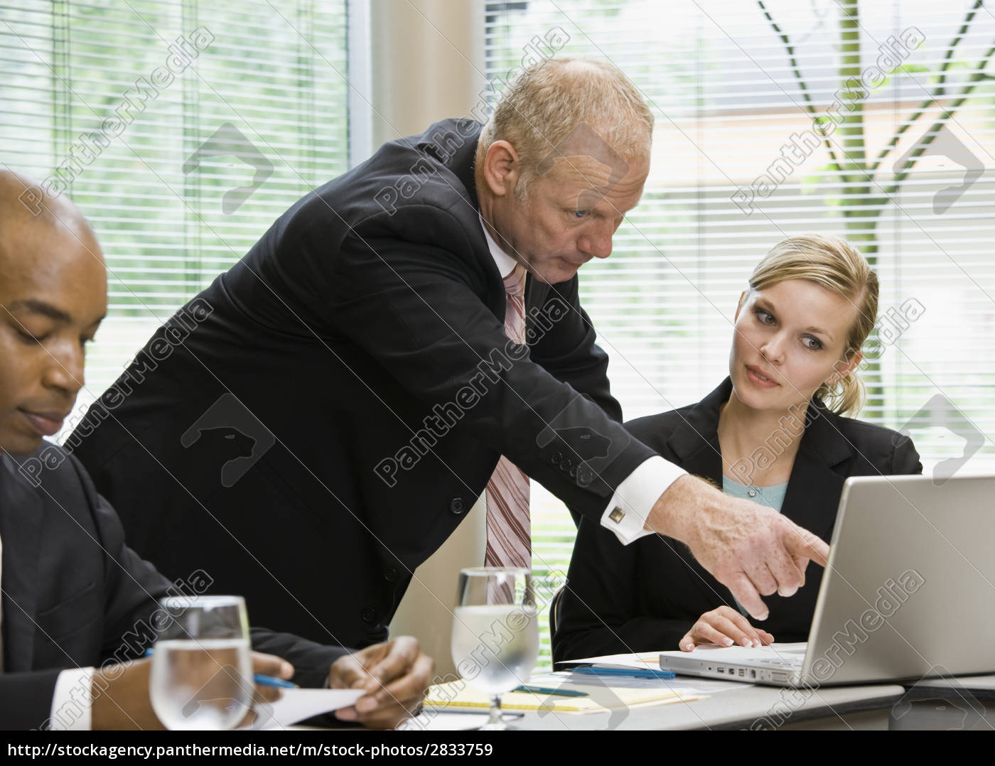 businessman, at, meeting - 2833759